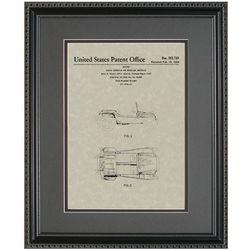 Manx Dune Buggy Framed Patent Art Print