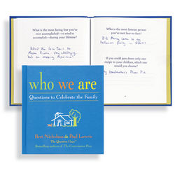Who We Are: Questions to Celebrate the Family Book