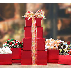 Holiday Sweet Stack Gift Tower