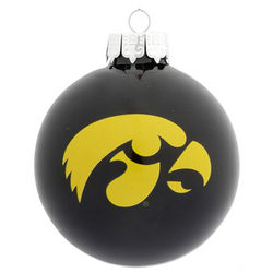 Personalized University of Iowa Christmas Ornament
