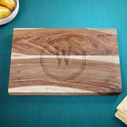 Personalized Family Brand Sheesham Cutting Board