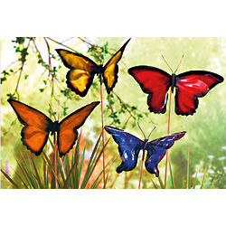 Beauteous Butterflies Plant Stakes