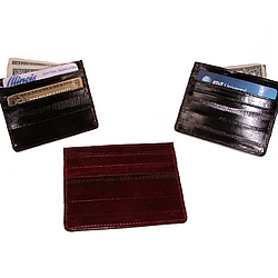 Eel Skin Card Holder