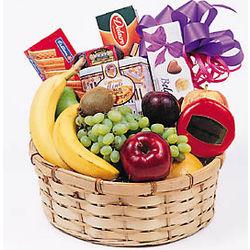 Fruit, Goodies & Gourmet Basket