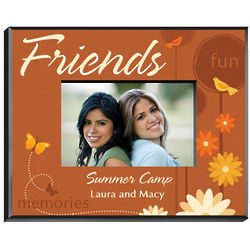 Personalized Springtime Celebration Friends Frame