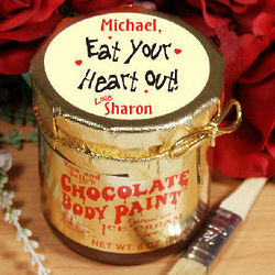 Eat Your Heart Out Chocolate Body Paint