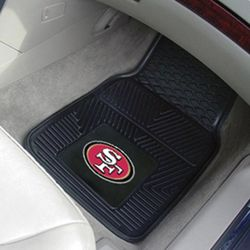 San Francisco 49ers NFL Automotive Mats