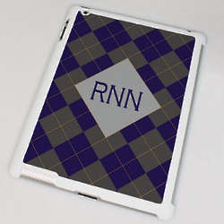 Argyle Personalized iPad 2 Case