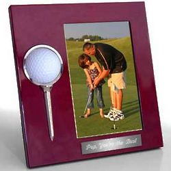 Personalized Golf Ball Picture Frame
