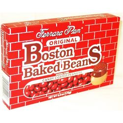 Boston Baked Beans Candy in Theatre Size Boxes