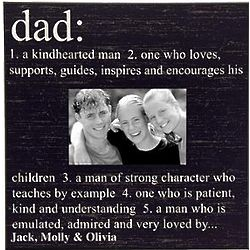 Personalized Dad Definition Photo Frame