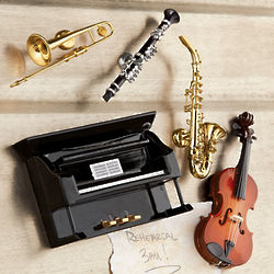 Musical Instruments Magnet Set