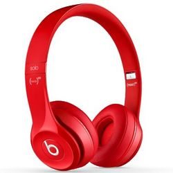 Beats Solo 2 Red On-Ear Headphones