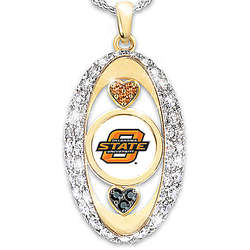 For the Love of the Game Oklahoma State Cowboys Pendant