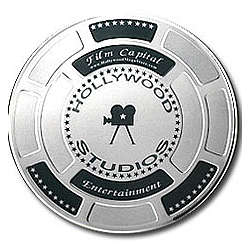 Silver Hollywood Studios Film Can