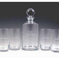 Personalized Meridian Decanter Set