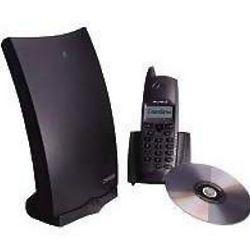 CyberGenie 2.4 GHz 2-Line Cordless Phone CY-DG2400