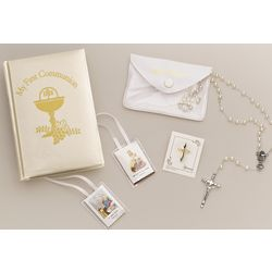 First Communion 5 Piece Gift Set for a Girl