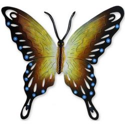 Soul of Happiness Butterfly Steel Wall Art