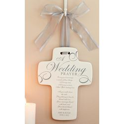 Personalized Wedding Prayer Cross