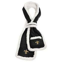 New Orleans Saints Sherpa Scarf