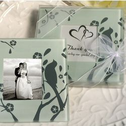 Lovebirds Photo Coaster