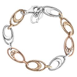 Canyon Road Mixed Metal Link Bracelet