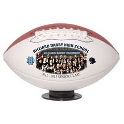 Personalized Mid Size Team Photo Football
