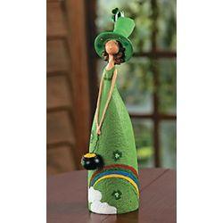 Irish Girl Decorative Figurine