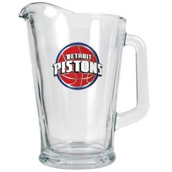 Detroit Pistons Glass Pitcher