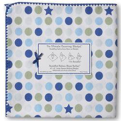 Ultimate Swaddling Blanket with Blue Star Design
