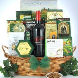 Greg Norman Estates Shiraz Father's Day Wine & Golf Gift Basket