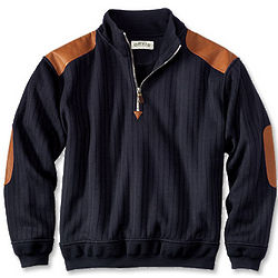 Quarter Zip Estate Sweater