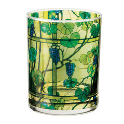 Tiffany Grapevine Double Old-Fashioned Glass