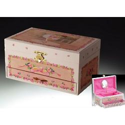 Spinning Ballerina Musical Jewelry Box
