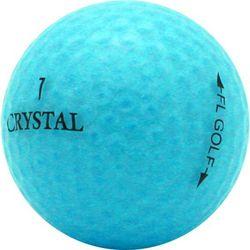Personalized Crystal Golf Balls in Aqua