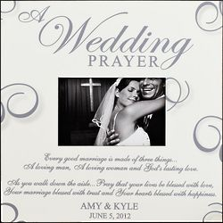 Personalized a Wedding Prayer Frame