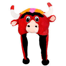 Chicago Bulls Mascot Hat