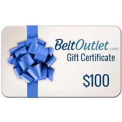$100 BeltOutlet.Com Gift Certificate