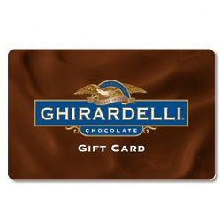 $50 Ghirardelli Gift Card