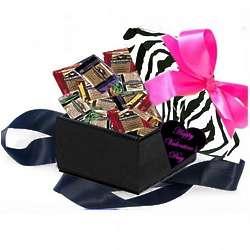 Sweet Ghirardelli Zebra Valentine Chocolate Sampler