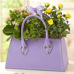 Mom's Purse Flower Garden