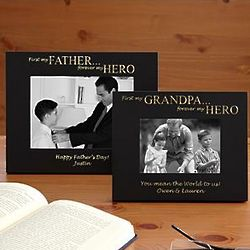 Personalized Forever Hero Photo Frame