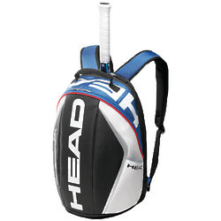 Head Tour Team Blue and White Tennis Backpack