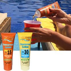 Sunscreen Bottles Flask Set