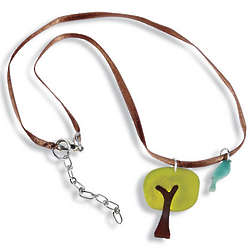 Tagua Nut Tree Necklace