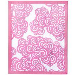Pink Bloom 3 Piece Crib Bedding Set