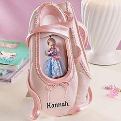 Personalized Ballet Slipper Frame