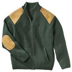 Irish Wool Military Cardigan