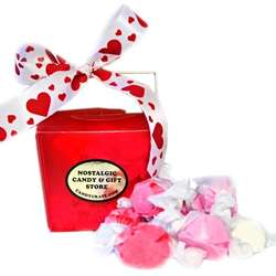 Valentine Fortune Heart Taffy Box